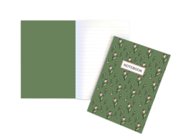 A5 Schrift | Tulpjes | 5 stuks