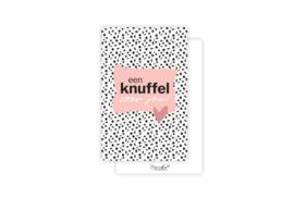 Mini-kaart   Een knuffel voor jou   5 stuks