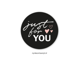 Sticker   Just for you