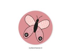 Sticker   Vlinder