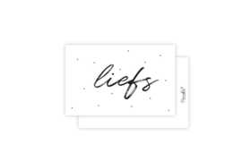 Mini-kaart   Liefs   5 stuks