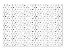 Kadopapier | Bloemen | 5 stuks