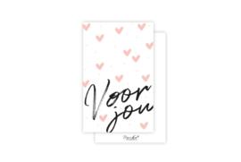 Mini-kaart | Voor jou | 5 stuks