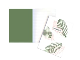 A5 Schrift | Tropical | 5 stuks