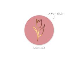 Sticker | 3 cm | Tulp