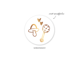 Sticker | 3 cm | Baby stuff