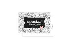 Mini-kaart   Speciaal voor jou   5 stuks