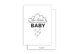 Kaart | Hi lieve baby | 5 stuks