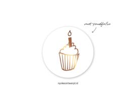 Sticker | 3 cm | Cupcake