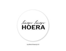 Sticker | Hiep hiep hoera