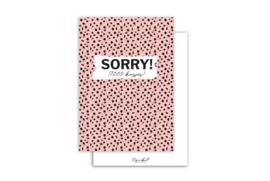 Kaart | Sorry! 1000 kusjes | 5 stuks