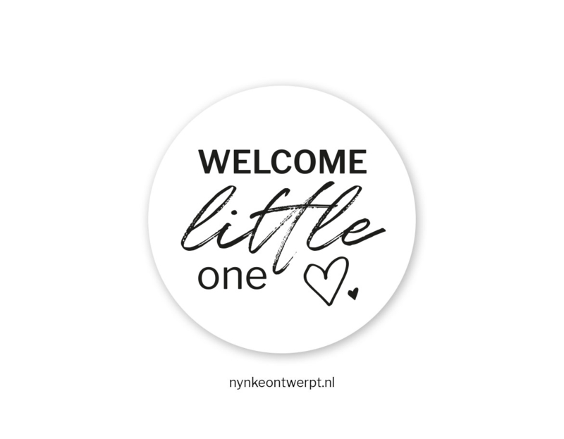 Sticker | Welcome little one