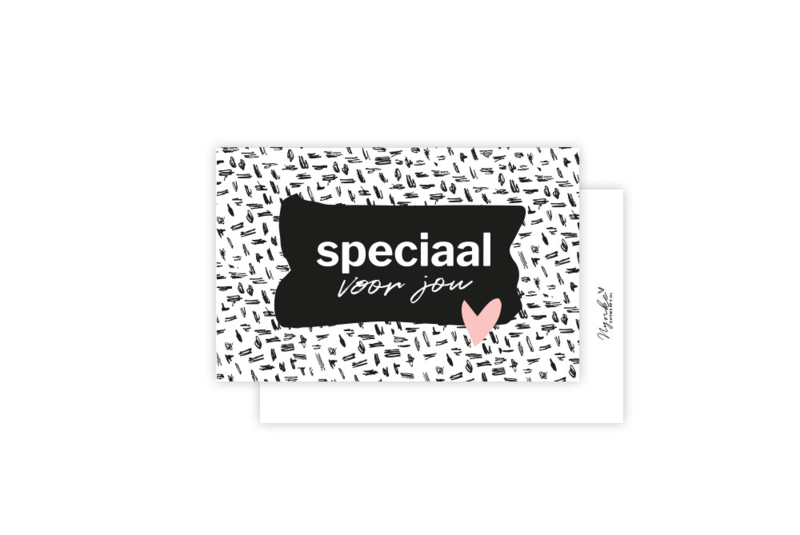 Mini-kaart | Speciaal voor jou | 5 stuks