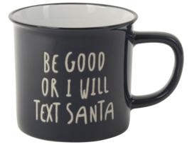 mok text Santa