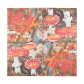 papieren servetten herfst