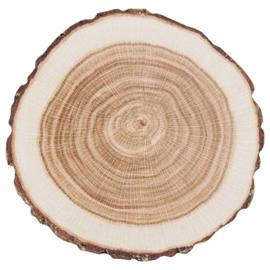 wegwerp onderzetters boomstam