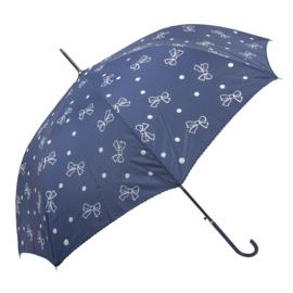 paraplu strikjes blauw