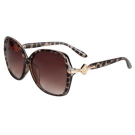 zonnebril Venice luipaard