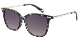 zonnebril Class One zwart gevlekt