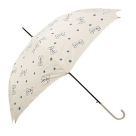 paraplu strikjes crème