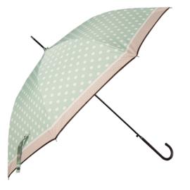 paraplu mintgroen met witte stip