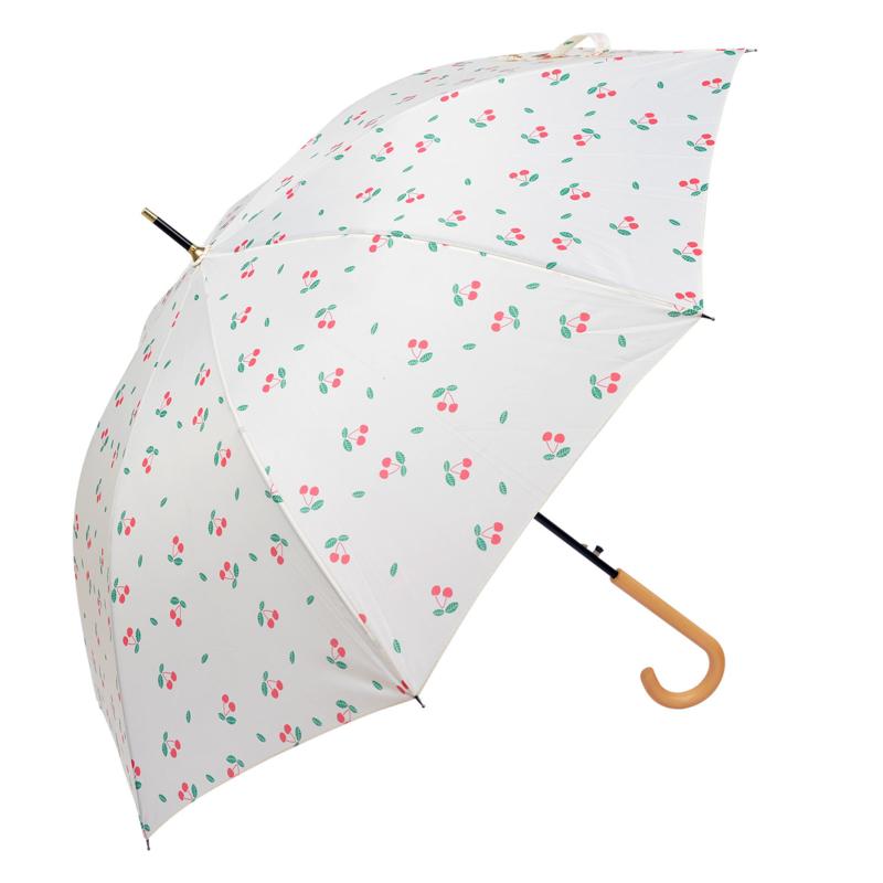 Paraplu crème kersen