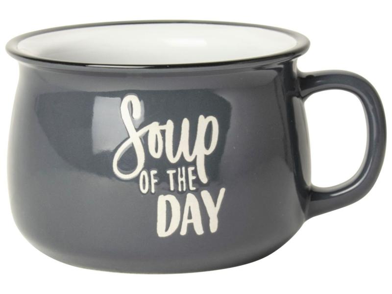 soepkom grijs Soup of the day
