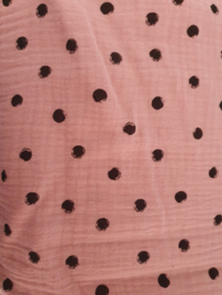 Roze stof stip