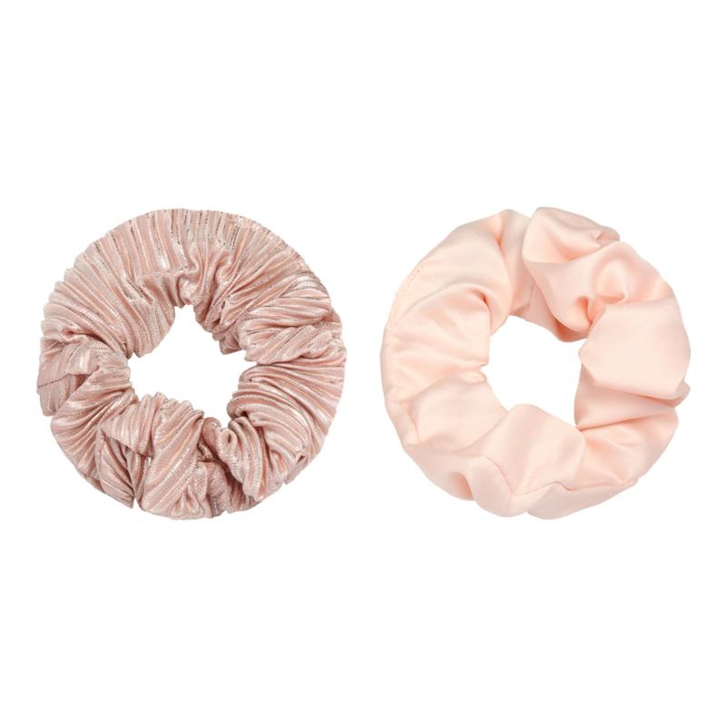 Scrunchie duo Roze