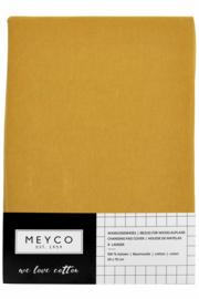 Aankleedkussenhoes Basic Jersey - Okergeel - 50x70cm