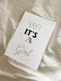 YAY | it's a girl