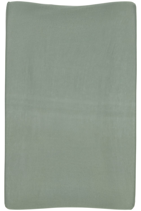 Aankleedkussenhoes Basic Jersey - Forest Green - 50x70cm