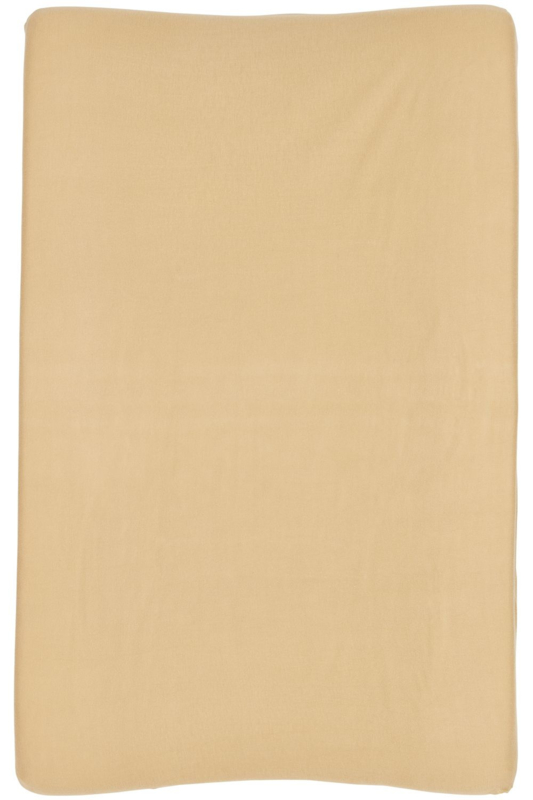 Aankleedkussenhoes Basic Jersey - Warm Sand - 50x70cm
