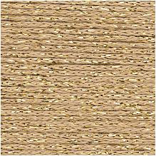 003 Gold Fashion Cotton Metallise DK