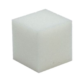 Kubus schuimrubber 10x10cm