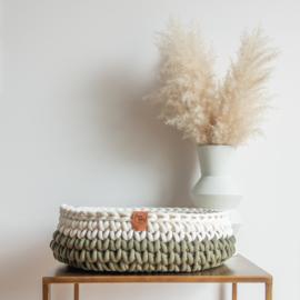 Sunny Basket - Two-tone (kies zelf je kleuren)