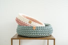 Sunny Basket - Grijsgroen