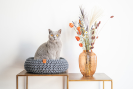 NIEUW Sunny Basket - Charcoal