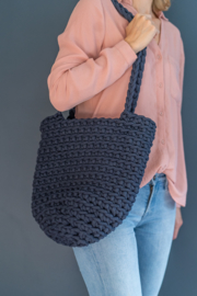 Tote Bag - donkerblauw
