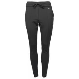 Travelstof broek van Angelle Milan zwart