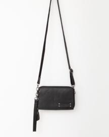 Bag 2 Bag grote wallet met schouderband gibson  zwart