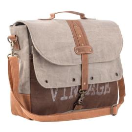 Canvas vintage messenger bag