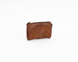 Bag2bag portemonnee / wallet Paros Cognac
