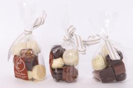Chocolade zakje