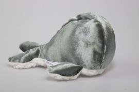 Walvis knuffel zacht blauw
