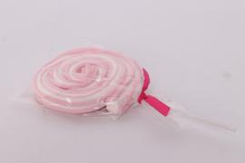 Snoep Roller pop roze