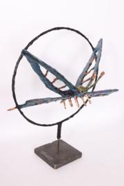 Vlinder op staander
