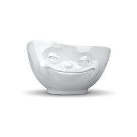 Schaal met grijnzend gezicht 500 ml