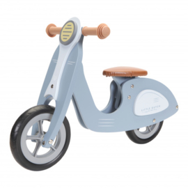 LD7004 Loopscooter blauw