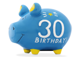 Spaarvarken 30 birthday